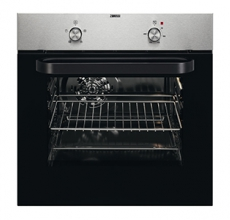 Zanussi Built In Single Oven ZZB30401XK Stainless Steel