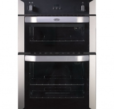 Belling Built-in Double Oven BI90G Stainless Steel Gas