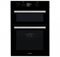 Indesit Built In Double Oven IDD6340BL