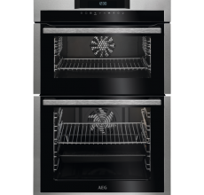AEG Built In Double Oven DCE731110M Stainless Steel