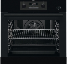 AEG Built In Single Oven BEB351010B Black Electric
