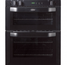Belling Built Under Electric Double Oven BI70FP Black