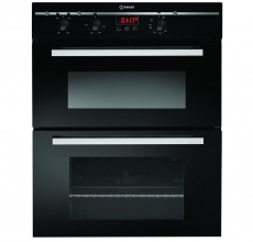 Indesit Build-Under Double Oven FIMU23BKS