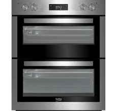 Beko Build Under Double Oven BTF26300X