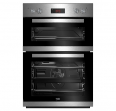 Beko Electric 90cm Double Oven CDF22309X