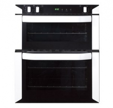 Belling Build-under 70cm Double Oven BI70FP White