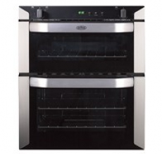 Belling BI70G Gas Build-Under Double Oven Stainless Steel