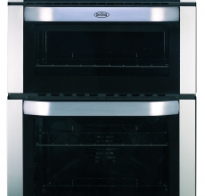 Belling Built-in Double Oven BI90F Stainless Steel