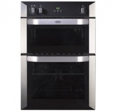 Belling Built-in double oven BI90FP Stainless Steel