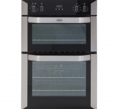Belling Built-in Double Oven BI90MF Stainless Steel