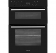 HOTPOINT Built-in Electric Double Oven DD2540BL