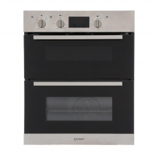 Indesit Built Under Double Oven IDU6340IX Stainless Steel Electric