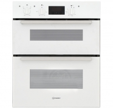 Indesit Built Under Double Oven IDU6340WH
