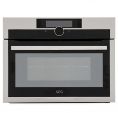 AEG Built In Compact Single Oven KME861000M Stainless Steel