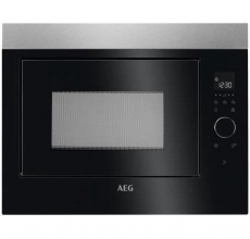 AEG Built In Microwave Oven MBE2658SEM Stainless Steel & Black