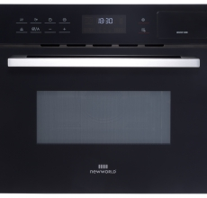 New World Suite Compact Oven & Microwave NW Suite 45cm Black