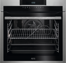 AEG Built In Single Oven BPE742320M Stainless Steel