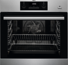 AEG Built In Single Oven BPS351220M Stainless Steel