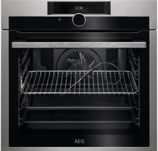 AEG Built In Single Oven BPE842720M Stainless Steel