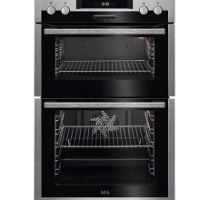AEG Built In Double Oven DCS431110M Stainless Steel