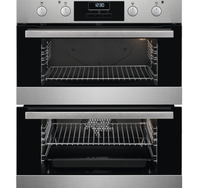 AEG Built Under Double Oven DUB331110M Stainless Steel