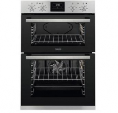 Zanussi Built In Double Oven ZOA35660XK Stainless Steel