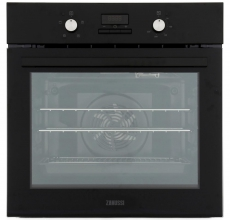 Zanussi Built In Single Oven ZOB35471BK Black