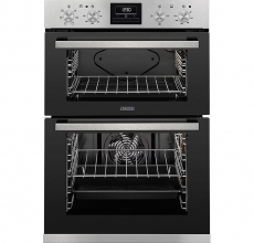 Zanussi Built In Double Oven ZOD35660XK Stainless Steel