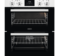 Zanussi Build-under Double Oven ZOF35601WK