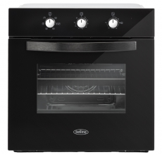 Belling BI602MM Single Oven Black