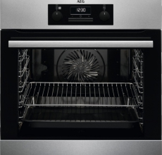 AEG Built In Single Oven BES25101LM Stainless Steel