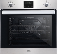 Belling Built In Single Oven BI602FPCT Stainless Steel