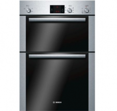 Bosch Built In Double Oven HBM13B252B Brushed Steel