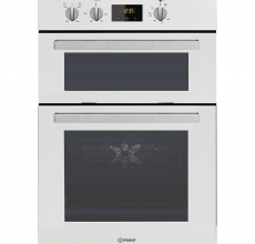 Indesit Built In Double Oven IDD6340WH Electric
