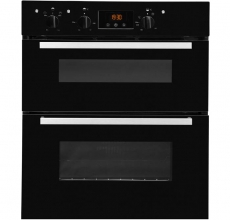 Indesit Built Under Double Oven IDU6340BL