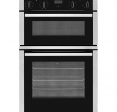 Neff Built In Double Oven U1ACE5HNOB Black/Stainless Steel