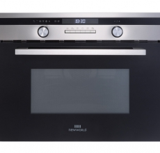 New World Built In Combi Oven and Microwave Suite 45cm Stainless Steel
