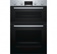 Bosch Built In Double Oven MBS133BROB Stainless Steel