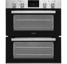 Zanussi Built Under Double Oven ZOF35601XK Stainless Steel