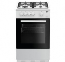 Beko Gas Cooker ESG50W