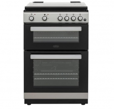Belling Dual Fuel Cooker FSDF608D Silver