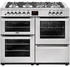 Belling Cookcentre 110DFT PROF Stainless Steel - 444444093
