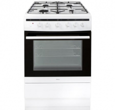 Amica Gas Cooker 608GG5MSW White 60cm