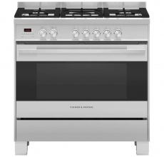 Fisher & Paykel Range Cooker OR90SDG4X1 Dual Fuel Stainless Steel