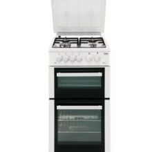Beko Gas Double Oven BCDVG505W