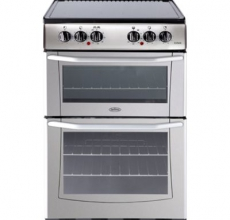 Belling Electric Cooker Enfield E552 Silver