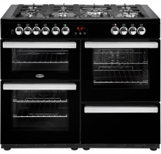 Belling Range Cookcentre 110DFT Black