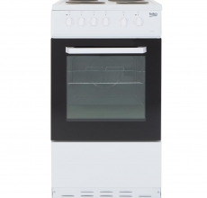 Beko 50cm Electric Cooker BCSP50W
