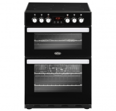Belling Cookcentre Electric Cooker 60E Black