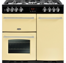 Belling Farmhouse Range Cooker 90DFT Cream
